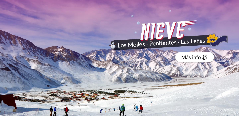 Nieve - Las Leñas, Los Molles, Penitentes